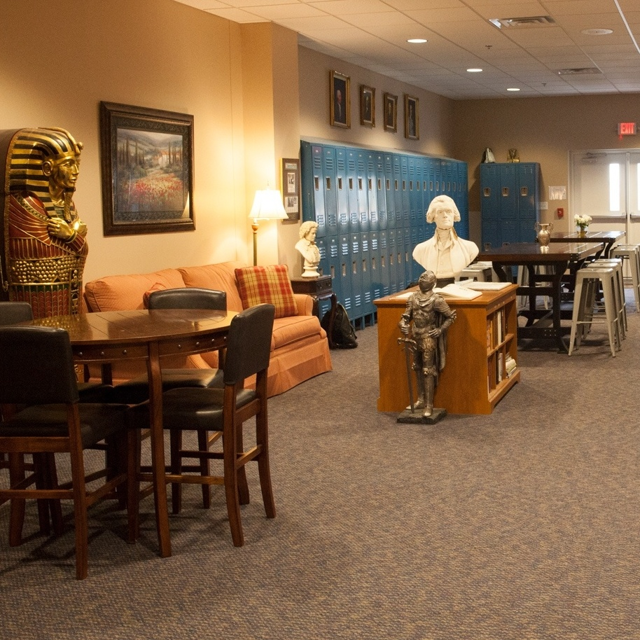 campus lobby | Veritas Collegiate Academy | Christian School